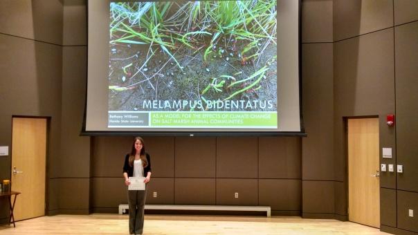 Bethany's first scientific talk, NEERS, Rankin Prize Winner (11)